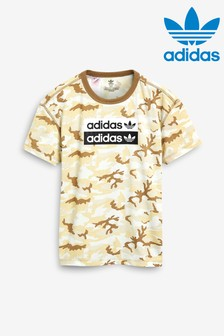 adidas Originals Brown Camo T-Shirt