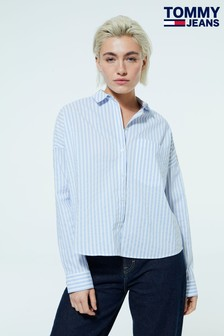 Tommy Jeans Cropped Stripe Shirt