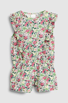 Floral Playsuit (3mths-6yrs)