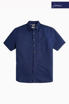 Joules French Navy Kilby Short Sleeve Shirt