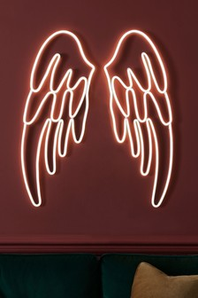 Large Neon Wings