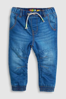 Jersey Lined Pull-On Jeans (3mths-6yrs)
