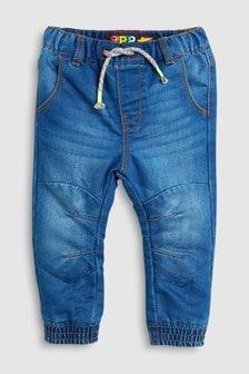 Schlupf-Jeans mit Jerseyfutter (3Monate bis 6Jahre)