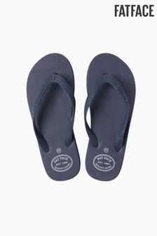 FatFace Blue Portloe Flip Flop