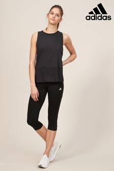 adidas Black Solid Legging