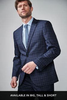 ea274b3dd5d5 Mens Tailored Suits | Mens Plain & Textured Tailored Suits | Next