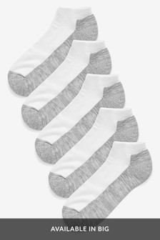 Cushioned Trainer Socks Five Pack