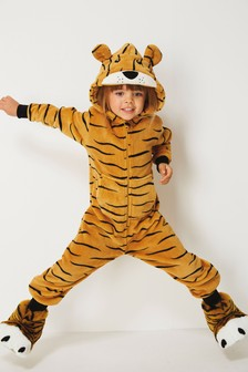 Tiger Fleece All-In-One (3-16yrs)