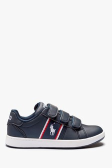 Polo Ralph Lauren Navy Toddler Quigley Trainers