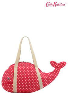 Cath Kidston® Little Spot Kids Novelty Whale Beach Bag
