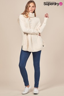 Superdry Cassie Skinny-Jeans, indigoblau
