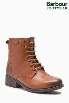 Barbour® Chestnut Roma Lace-Up Ankle Boot