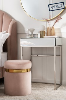 Sloane Mirrored Compact Dressing Table