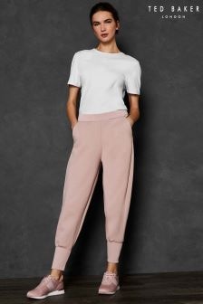 Ted Baker Ted Says Relax Pink Jersey Jogger
