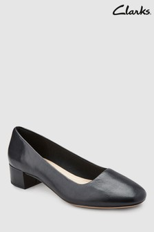 30e3263b36c44 Clarks Black Orabella Alice Low Block Heel