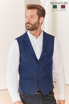 Wool Blend Waistcoat