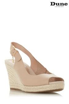 52c1b091e93 Dune London Pink Blush-Leather Shoe