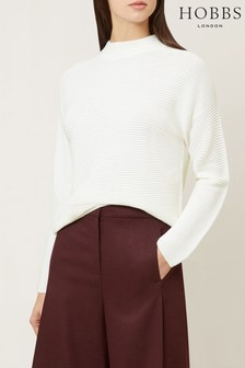 Hobbs Cream Shannon Sweater