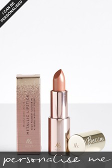 Personalised Long Wear Matt In The Buff Lipstick