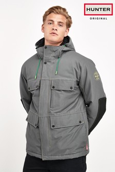 Hunter Mens Grey Original Insulated Field Jacket