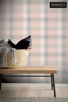 Country Check Wallpaper by Arthouse
