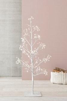 72 LED Glitter Diamante 5ft Twig Tree