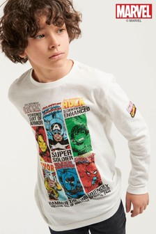 Marvel® Long Sleeve T-Shirt (3-16yrs)