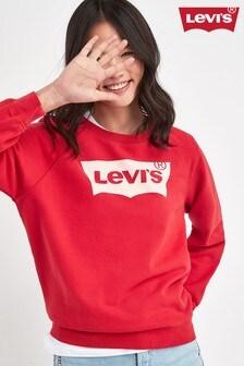 Levi's® Red Batwing Logo Sweat