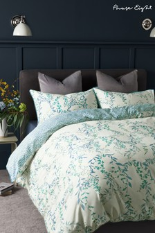 Phase Eight by Next Blue 300 Thread Count 100% Cotton Carmen Floral Duvet Cover and Pillowcase Set