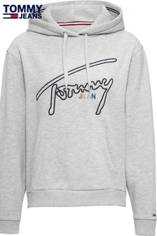 Tommy Jeans Signature Logo Hoody