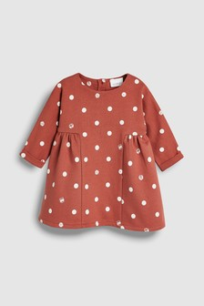 Spot Dress (0mths-2yrs)