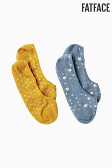 FatFace Blue Star Footsies Two Pack