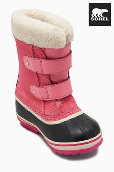 Sorel® Pink 1964 PAC Velcro Straps Snow Boot