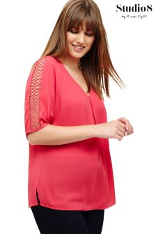 Studio 8 Pink Fern Top