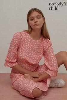 Nobody's Child Selena Floral Print Midi Dress