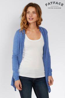 FatFace Azure Organic Cotton Libby Cardigan
