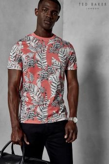 Ted Baker Bulseye Floral Printed T-Shirt
