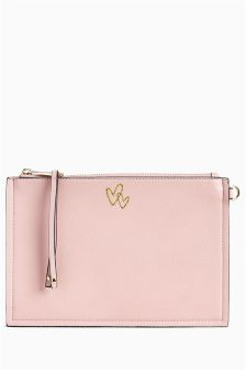 Zip Top Clutch