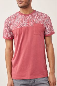 Floral Block T-Shirt