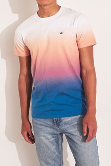 Hollister Red Ombre T-Shirt