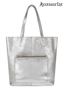 Accessorize Amy Leather Shopper