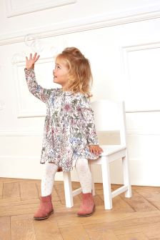 Floral Jersey Dress (3mths-6yrs)