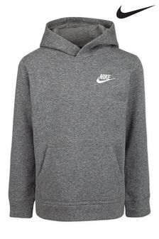 Nike Little Kids Grey Fleece Hoodie