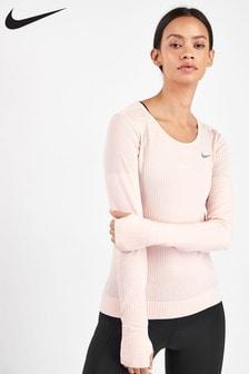 Nike Infinite Pink Long Sleeved Running Top