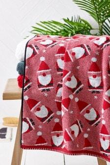 Weihnachtsmann-Handtuch