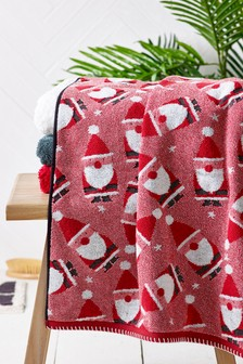 Полотенце с Санта-Клаусом