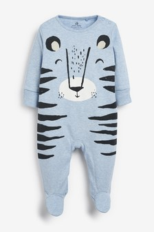 Tiger Character Dress Up Sleepsuit (0mths-2yrs)