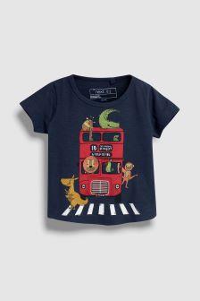 Bus Short Sleeve T-Shirt (3mths-6yrs)