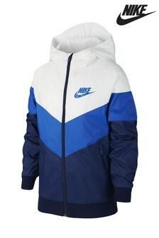 Nike Navy/Blue Chevron Windrunner Jacket