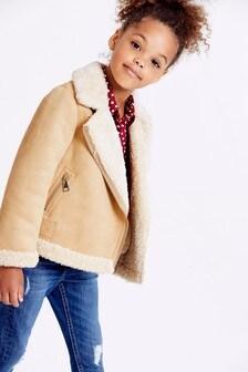 Байкерская куртка (3-16 лет)